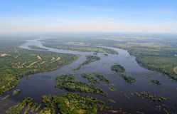 Zambezi River Stock Photo