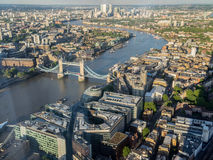 Aerial Views around  London Royalty Free Stock Image