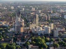 Aerial Views around  London Royalty Free Stock Photos