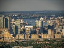 Aerial Views around  London Stock Images