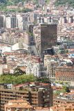 Aerial views of city center Bilbao, Bizkaia, Basque country, Spa Stock Images