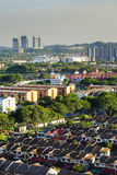 Aerial vue of Kuala Lumpur Royalty Free Stock Photography