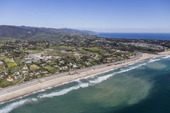 Aerial Zuma Beach Malibu California Royalty Free Stock Photo
