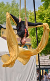 The Aerialist Royalty Free Stock Photo