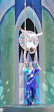 Aerialists Royalty Free Stock Photo