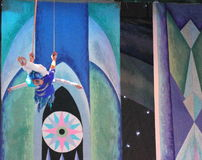Aerialists Royalty Free Stock Images