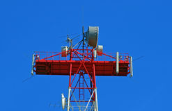 Aerials of connection Royalty Free Stock Image