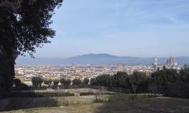 Aerialview de Florencia Imagen de archivo libre de regalías