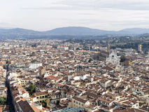 Aerialview de Florencia Fotografía de archivo libre de regalías