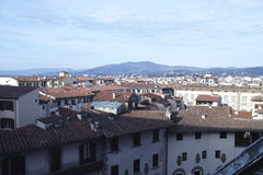 Aerialview de Florencia Imagen de archivo