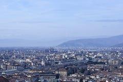 Aerialview de Florencia Fotos de archivo