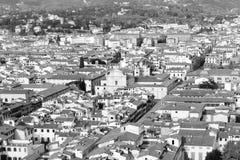 Aerialview de Florencia Fotografía de archivo