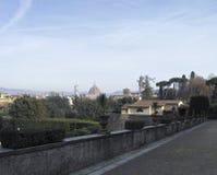 Aerialview de Florencia Fotos de archivo libres de regalías