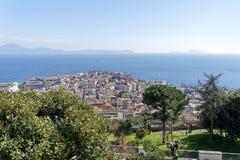 aerialview de Nápoles Imagen de archivo libre de regalías