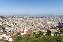 aerialview de Nápoles Fotos de archivo libres de regalías