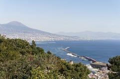 aerialview de Nápoles Foto de archivo