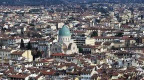 Aerialview von Florenz Stockbilder