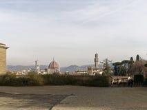 Aerialview von Florenz Lizenzfreie Stockfotografie