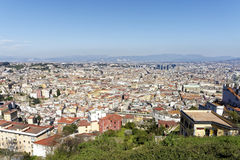 aerialview von Neapel Lizenzfreie Stockfotos