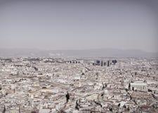 aerialview von Neapel Stockfoto