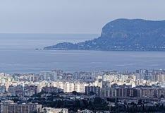 aerialview von Palermo Stockbilder