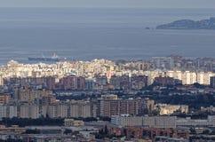 aerialview von Palermo Lizenzfreie Stockfotos