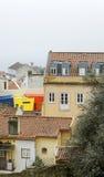 Aerielview de Lisboa Foto de archivo libre de regalías