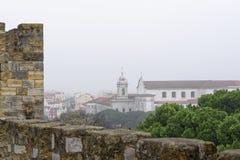 Aerielview de Lisboa Fotos de archivo