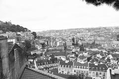 Aerielview de Lisboa Foto de archivo