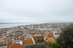 Aerielview von Lissabon Stockbilder
