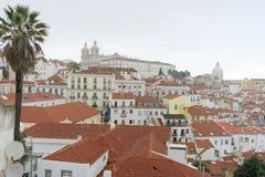 Aerielview von Lissabon Stockfotos
