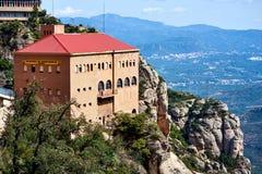 Aerien de Montserrat Royaltyfri Fotografi