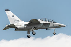 Aermacchi MB346 MT55225波兰语空军队 图库摄影