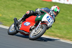 Aermacchi on a race track Royalty Free Stock Photo
