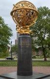 Aero мемориальный круг Филадельфия Logan Стоковое Изображение RF