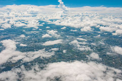 Aero плоский взгляд глаза Стоковые Фото