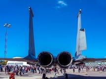 Aero- Alca L-159T1 de la fuerza aérea checa Imágenes de archivo libres de regalías