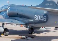 Aero- avión de combate L-159T1 de la fuerza aérea checa Imagen de archivo libre de regalías