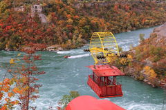 Aero Car Over Niagara Gorge Stock Photos