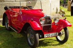 Aero- coche de deportes del vintage Imágenes de archivo libres de regalías