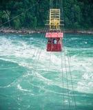 Aero- coche Niagara Falls de Whirlpool Foto de archivo libre de regalías