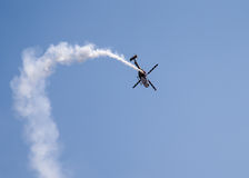 Aero- demostración de la India Fotos de archivo libres de regalías