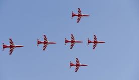 Aero- demostración de la India fotografía de archivo