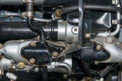 Aero engine close up Stock Image