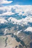 Aero flache Augenansicht Lizenzfreies Stockfoto