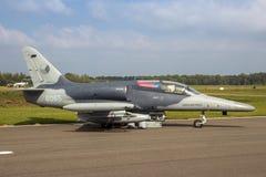 Aero- jet del ataque del Alca L-159 Imagen de archivo libre de regalías
