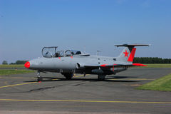 Aero- L-29 DelfÃn (delfín) Imagen de archivo libre de regalías