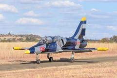 Aero L-39 Albatros Flugzeuge Lizenzfreie Stockfotos