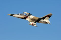 Aero L-39 Albatros fly-by Stock Photo