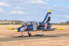 Aero l-39 Albatros-vliegtuigen Royalty-vrije Stock Foto's